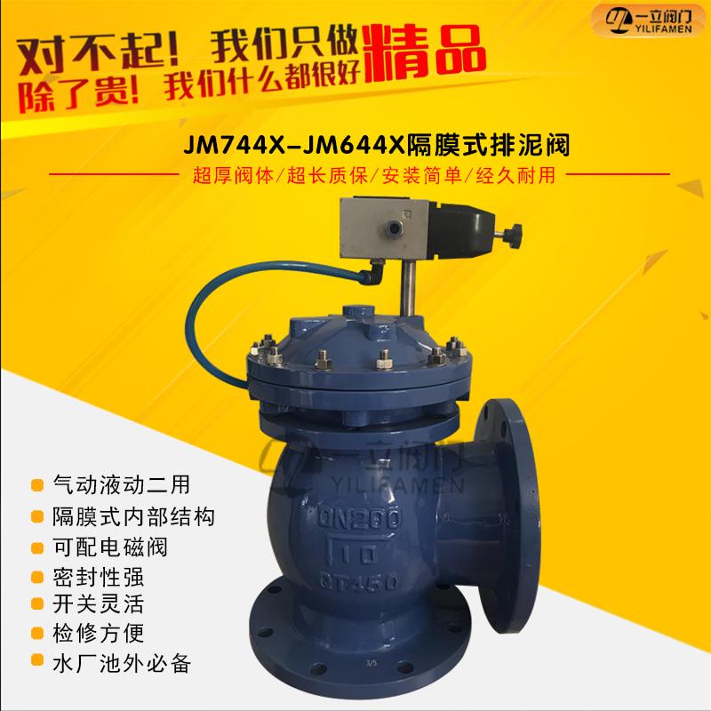 JM744X/JM644X隔膜式液动/气动快开