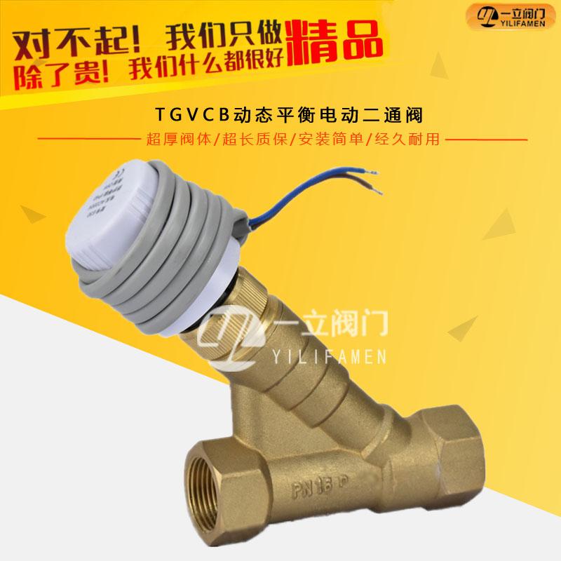 TGVCB动态平衡电动二通阀